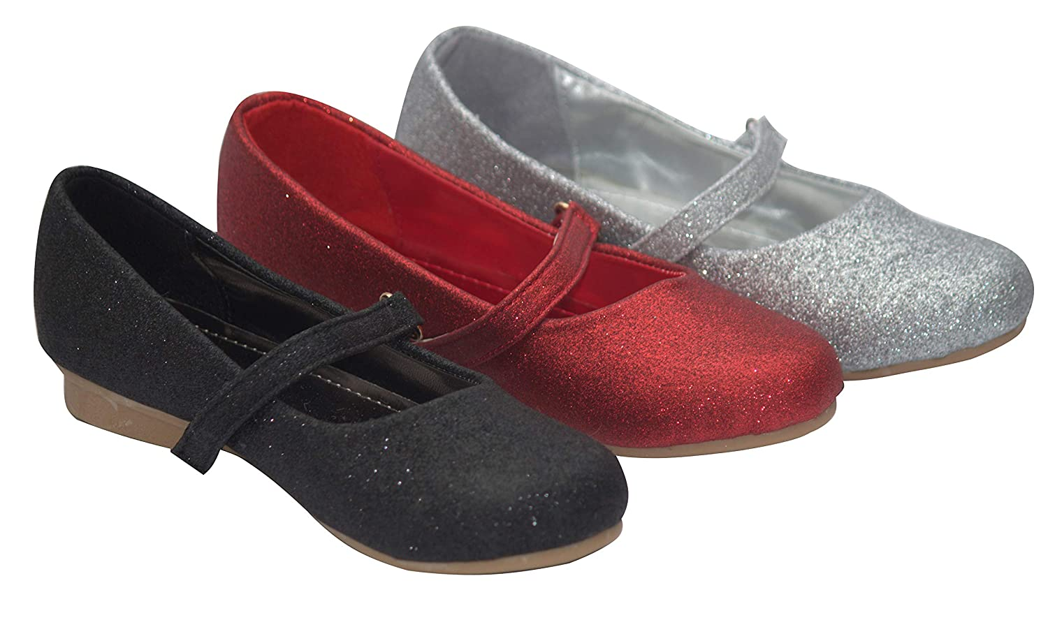 New Girls Party Birthday Evening Dressy Flat Shoes
