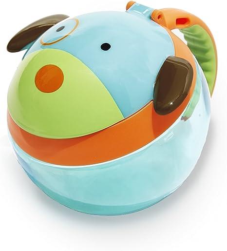 Imagen deRecipiente para tentempiés de Skip Hop para niños, diseño de mono multicolor multicolor