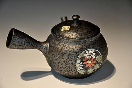 Amazon.com: Japanese teapot Kyusu Tokoname famous handmade ...