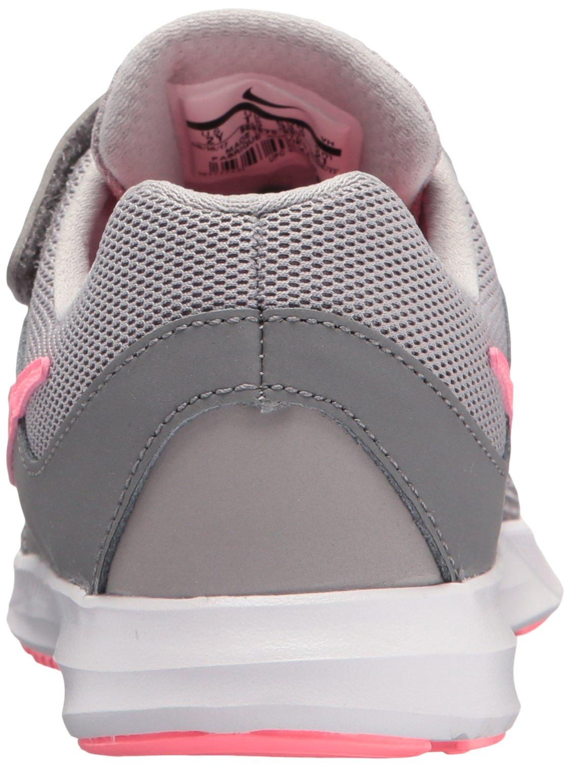 Nike Girls' Downshifter 7 (PSV) Running Shoe, Gunsmoke/Sunset Pulse-Atmosphere Grey, 2 M US Little Kid by Nike (Image #2)