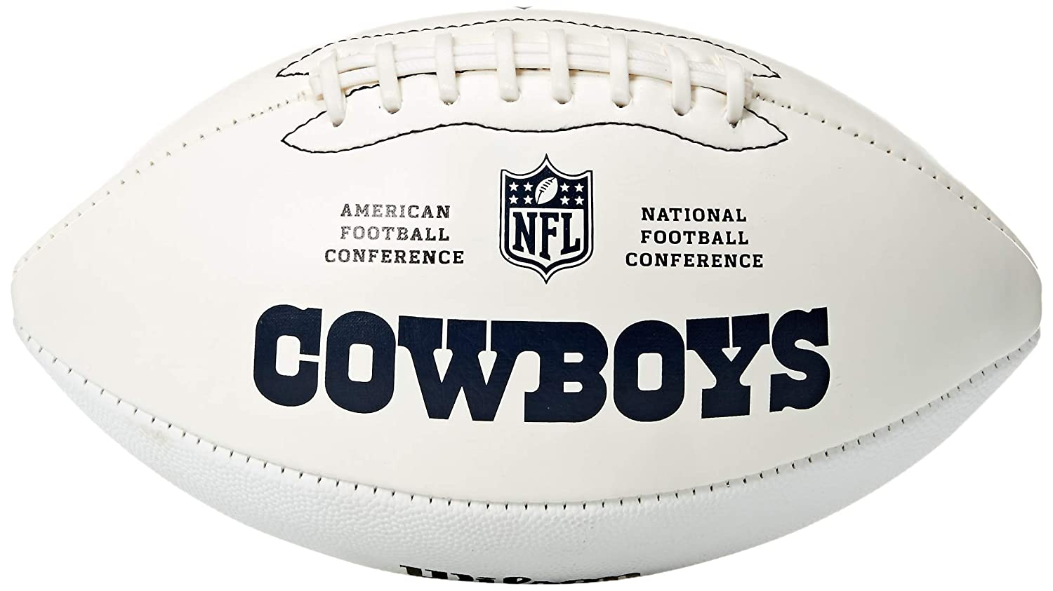 NFL Team Logo Autograph Football
