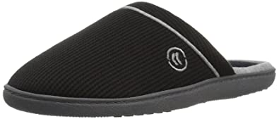 7399dcfa6f56be Amazon.com | ISOTONER Women's Waffle Knit Slip On Clog Slipper for ...