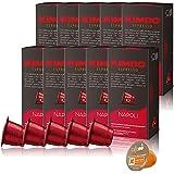 ネスプレッソ カプセル 互換 キンボ kimbo コーヒー ナポリ 1箱 10 カプセル 10箱 合計 100 カプセル