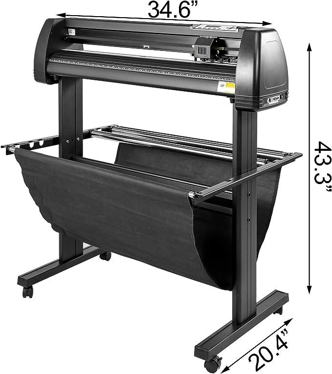 Amazon.com: VEVOR cortador de vinilo 14/28/34/53 pulgadas ...