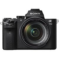 Sony Alpha 7M2 E-Mount Vollformat Digitalkamera ILCE-7M2 Zeiss Kit (24,3 Megapixel, 7,6cm (3 Zoll) LCD Display, Full HD Video, Vollformat Exmor CMOS Sensor inkl. SEL-2470Z Objektiv) schwarz
