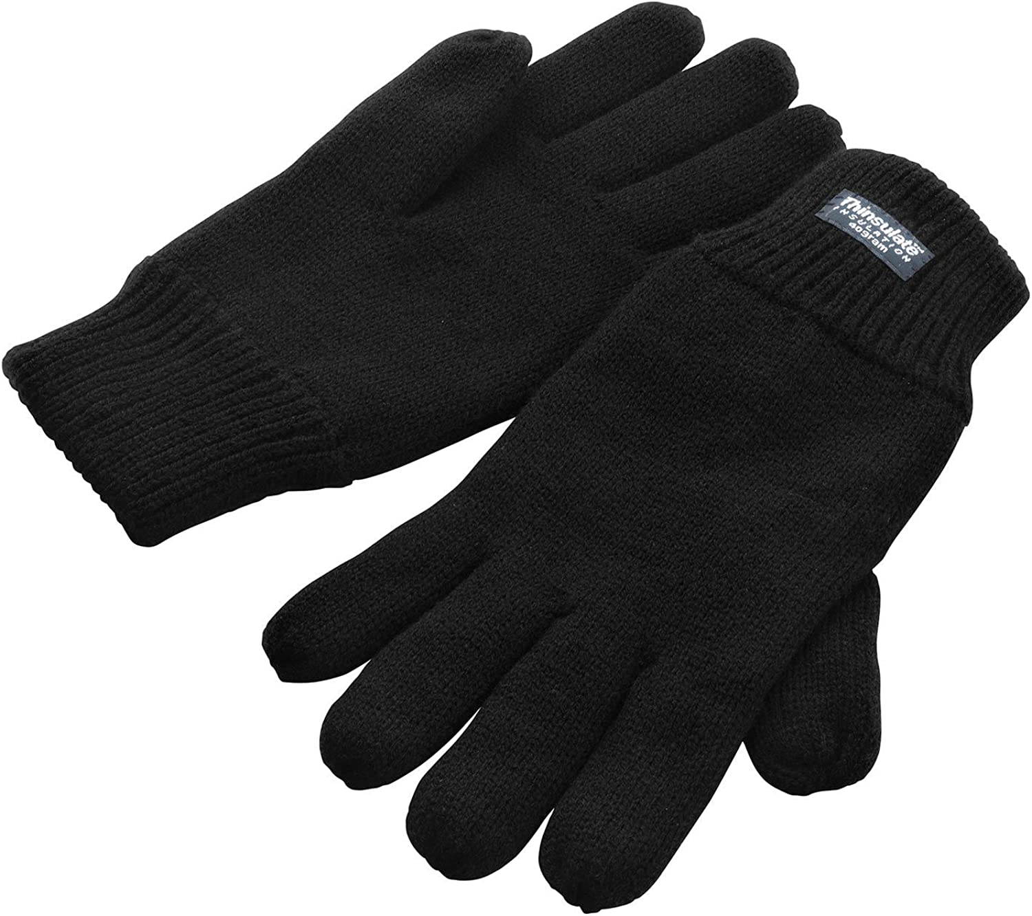 Damen Thermo Strickhandschuhe Winter Handschuhe Thermofutter One Size