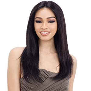 """Naked Natural Brazilian Virgin Human Hair Lace Front Wig Ear To Ear Lace 5""""Center Part Candice (NATURAL) (NATURAL)"""