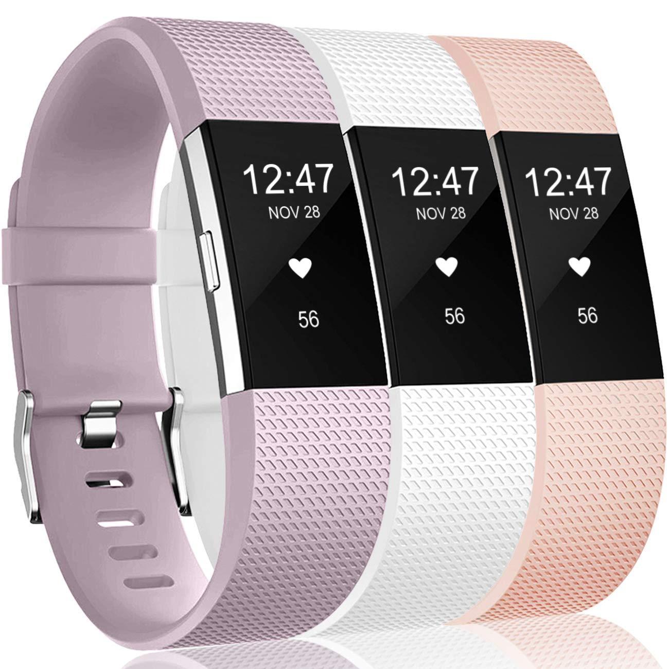 Mallas Para Reloj Fitbit Charge 2 Hr (3 Unidades)