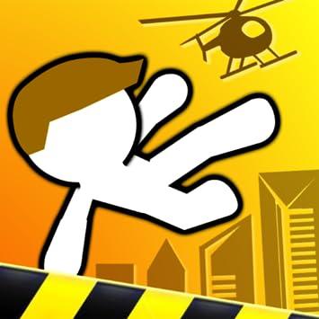 Amazon.com: Rooftop Run Ninja Dude Stickman Games For Kids ...