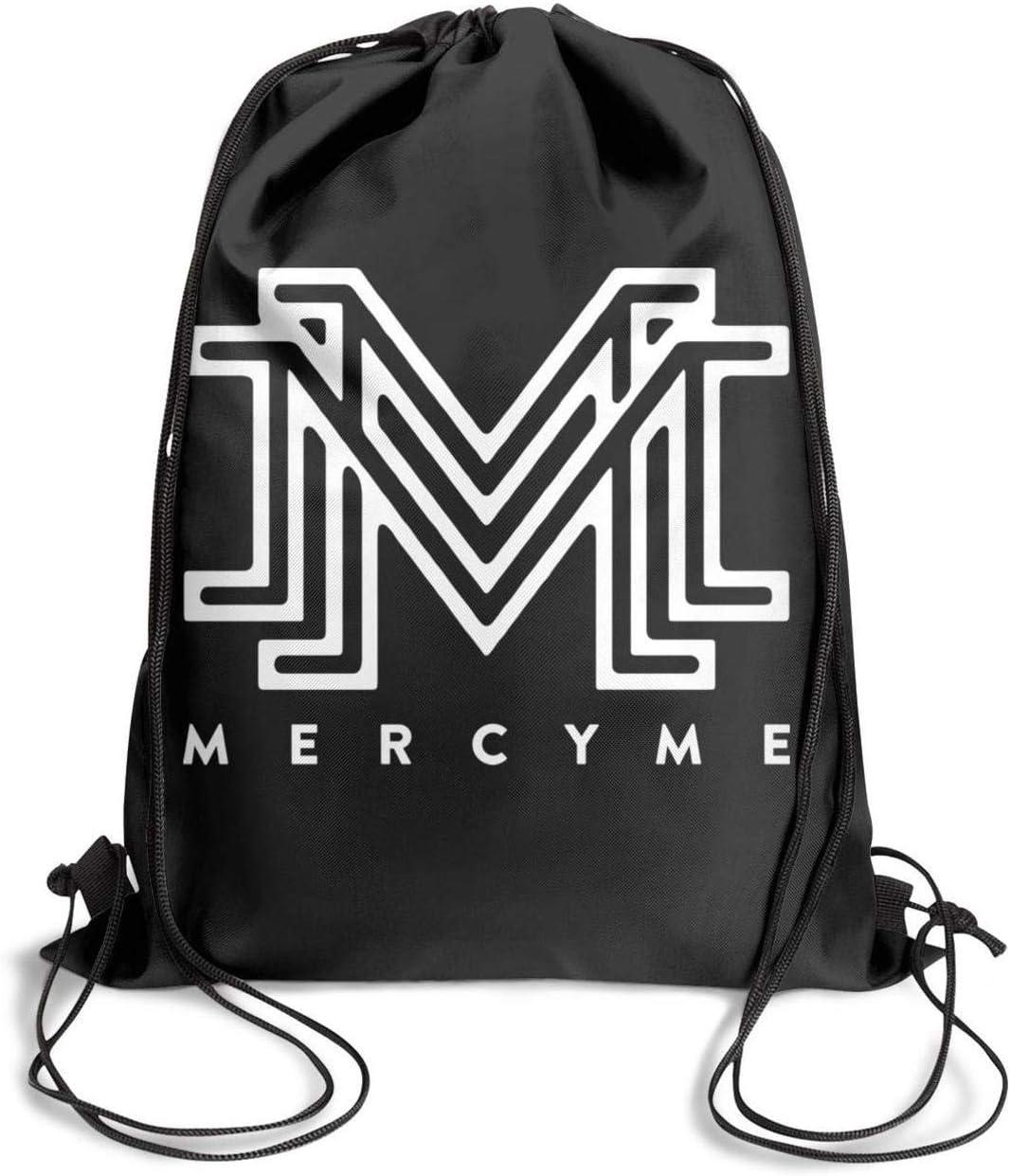 Drawstring Backpack Dancing Bag gym Sackpack Band Logo Printing cute Adjustable Gymsack for Men Women