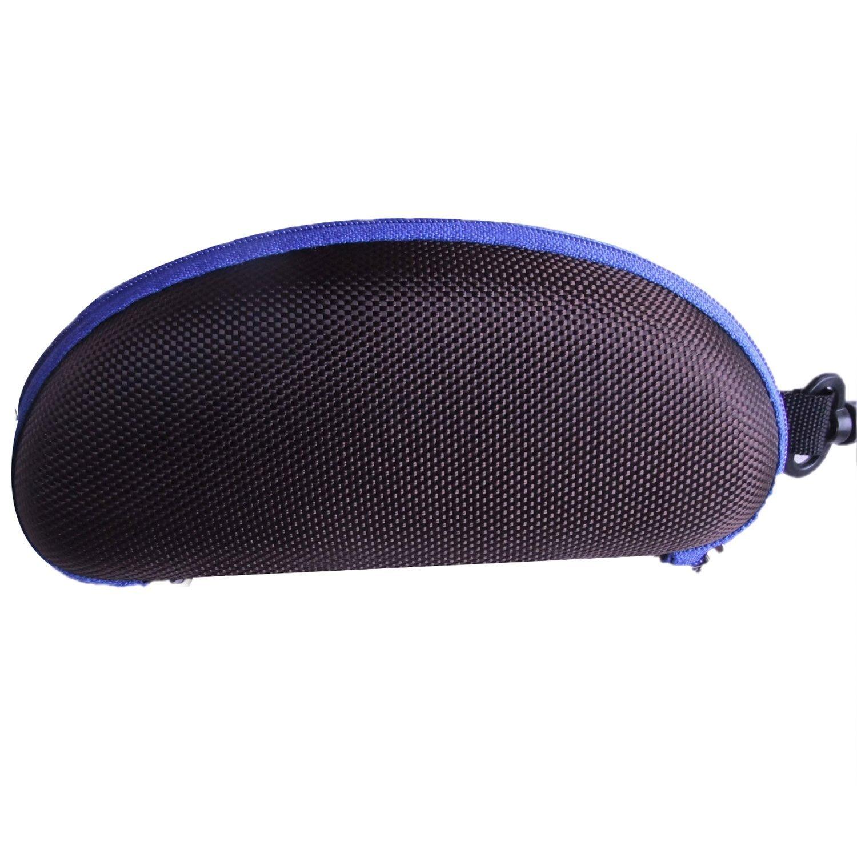 Vococal - Portatile Casella di Deposito Cerniera Protettore di Occhiali Custodia Rigida con un Gancio / Scatola di Immagazzinaggio Protector per Occhiali da Sole Occhiali da Vista Rose
