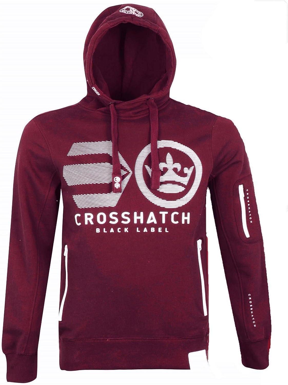 Crosshatch Men/'s Cramform Overhead Hoodie