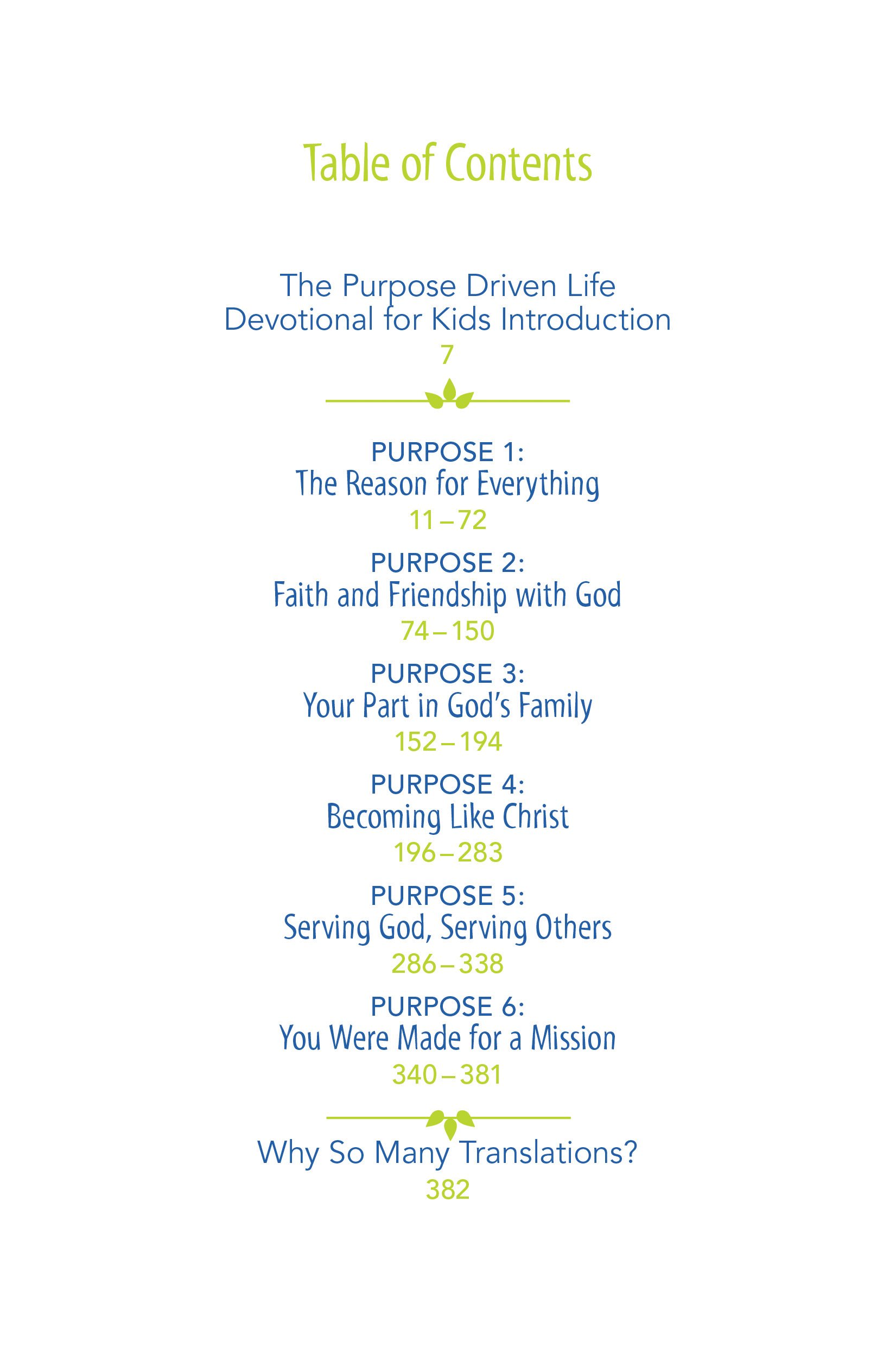 The Purpose Driven Life Devotional for Kids Rick Warren