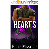 Heart's Desire: a Sizzling Rock Star Romance (Angel Fire Rock Romance Book 2) book cover