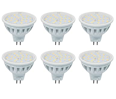 Dc12v Dimmbar Mr16 Led Lampe Gu5 3 Strahle Ersetzt 60w Warmweiss 3000k 600lm Ra85 120 Abstrahlwinkel 6er Pack