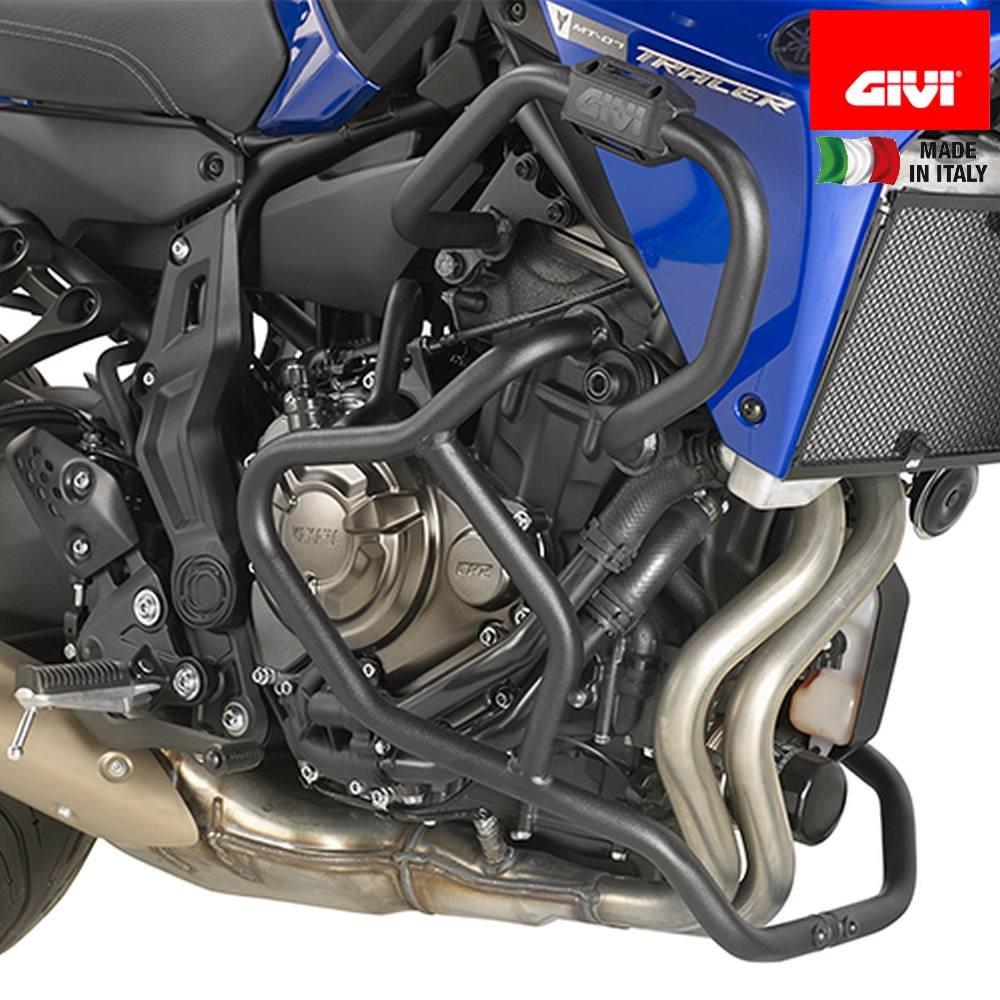 Paramotore tubolare GIVI TNH2130 nero MT-07 Tracer (16)