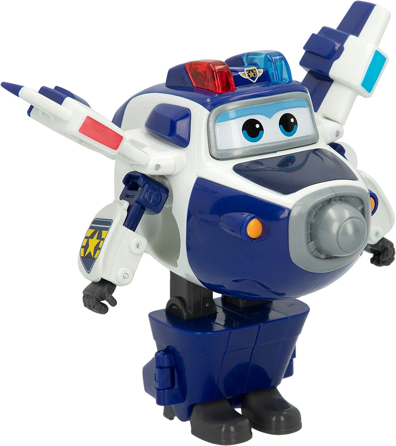 Super Wings - Donnie, personaje transformable, 13.5 cm, color amarillo y azul (ColorBaby 75873): Amazon.es: Juguetes y juegos