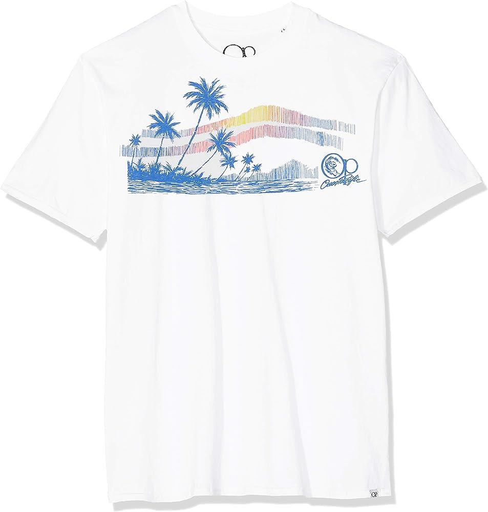 Ocean Pacific Surf Sketch Camiseta, Blanco (White White), Large para Hombre: Amazon.es: Ropa y accesorios