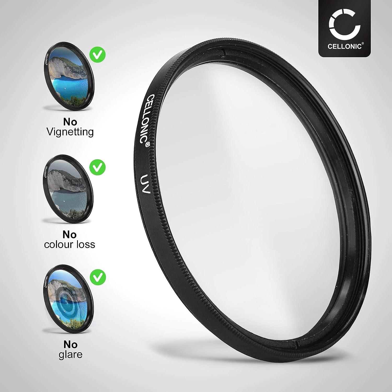 CELLONIC/® UV Filter kompatibel mit Sigma 30mm F1,4 DC DN C Schutzfilter Contemporary /Ø 52mm