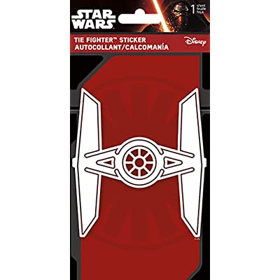 Star Wars - Ti Fighter - One Color Decal: Toys & Games