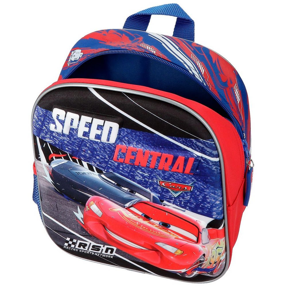 Disney Cars Central Mochila Infantil Multicolor 0.92 Litros 34 cm