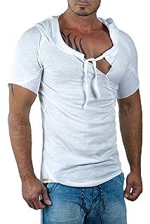 Redbridge Herren T-Shirt Oversized Streetwear Freizeit Kapuze Top by Cipo  Baxx a002599384