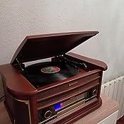 Roadstar HIF-1896TUMPK Giradiscos Vintage con función encoding ...