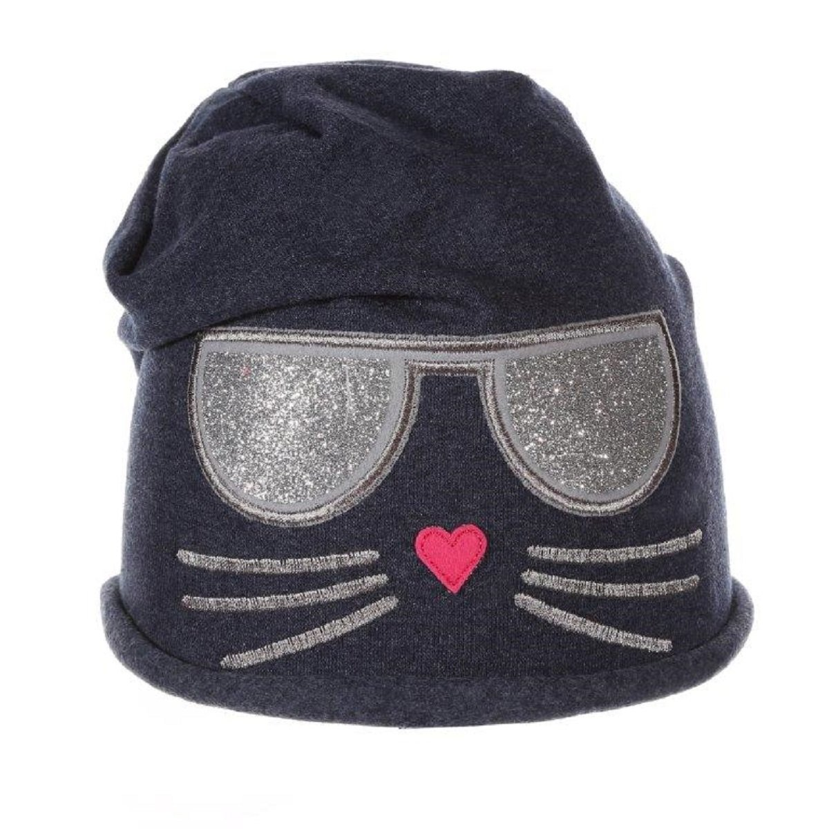 Ande Girls Cotton Set Hat and Scarf Snood Light Tricot Set Size 4-9 Years Grey 2)