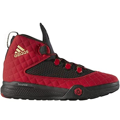low priced dbceb a60dd adidas Performance Mens D Rose Dominate 2016 Basketball Trainers - Red -  14.5