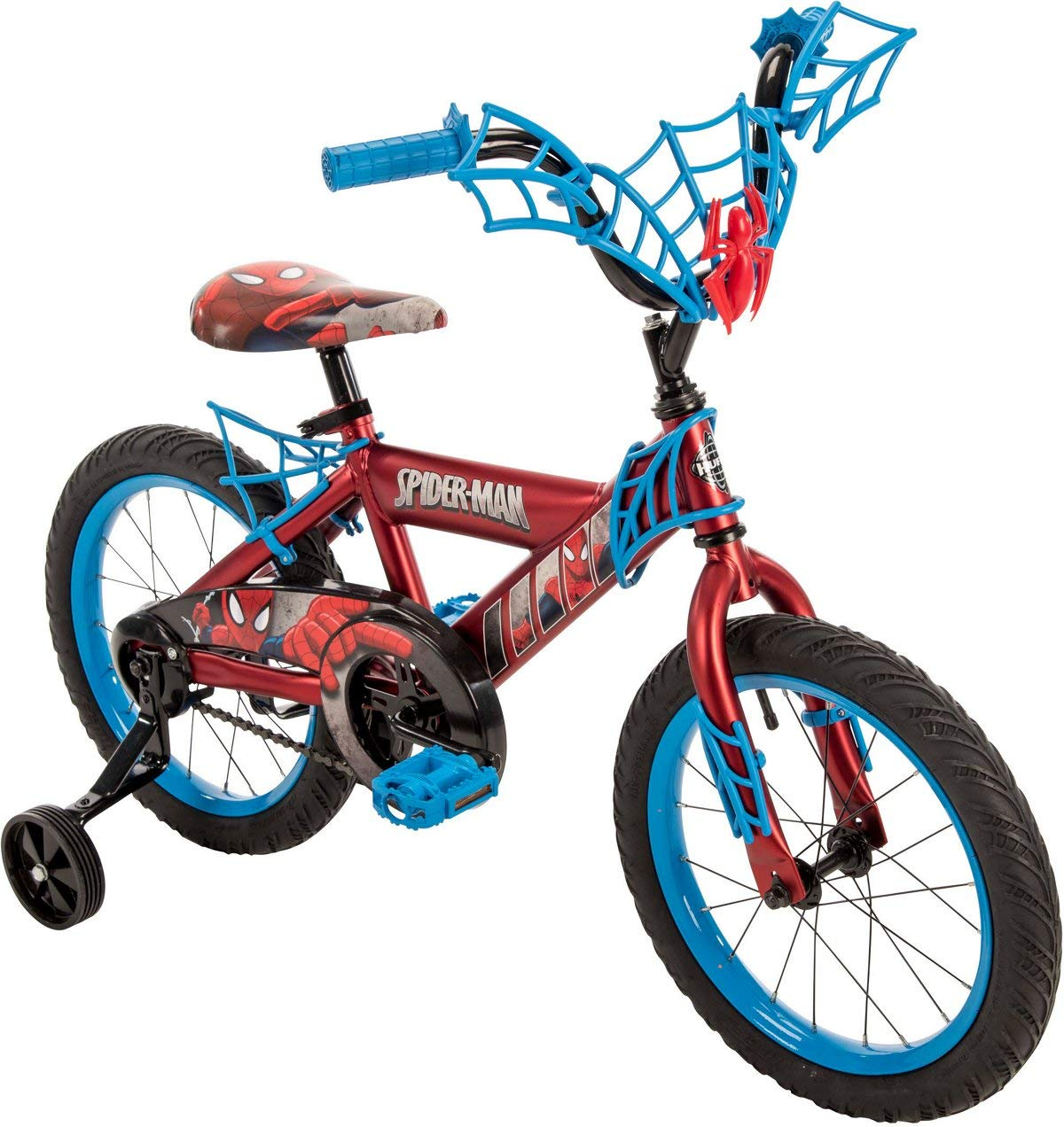 Huffy Boys' Marvel Spider-Man 16 in Bicycle (blue black) by Huffy