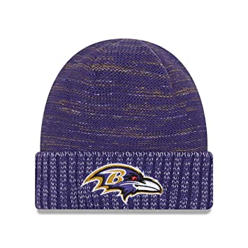 official photos bf4cc d76e7 ... buy new era baltimore ravens 2017 color rush nfl knit hat e16cb 6a32e