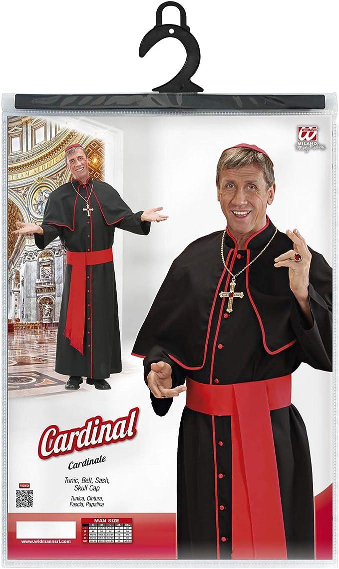 Adult Vicar Nun Priest Monk Pope Ornate Cross Church Fancy Dress Costume Mens