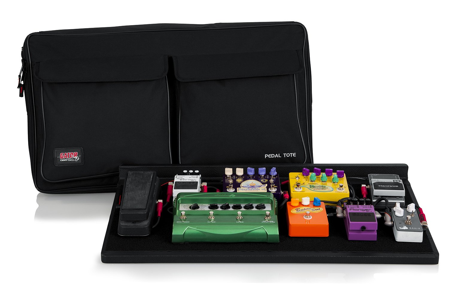Gator Pedal Board with Carry Bag, Pro Size (GPT-PRO)