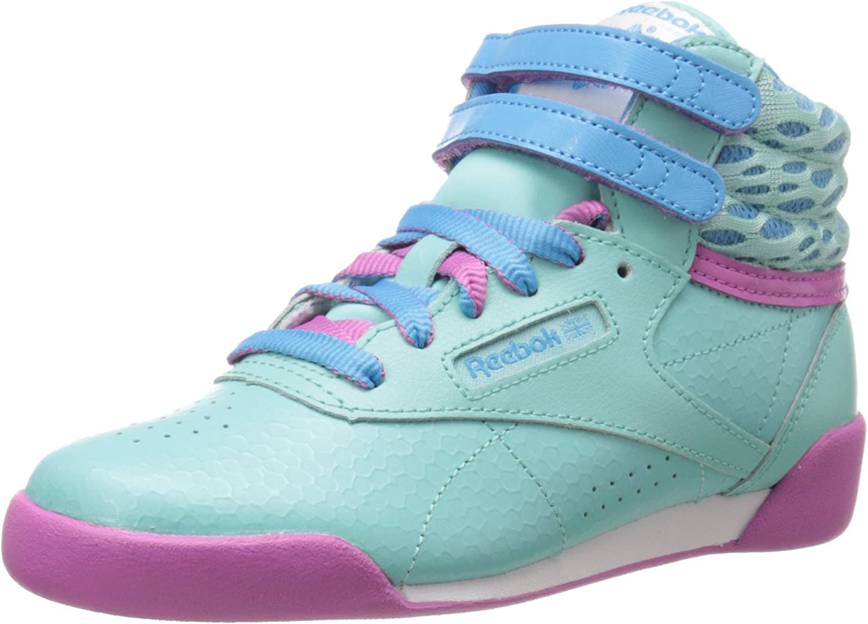 Todopoderoso carga Artístico  Amazon.com | Reebok Freestyle High Classic Shoe (Little Kid/Big Kid) |  Fitness & Cross-Training