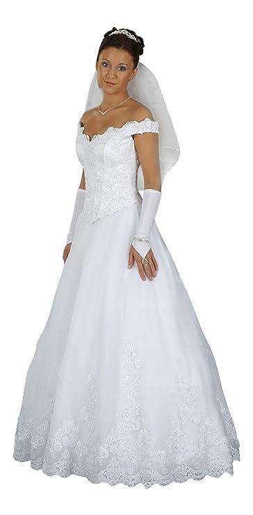 Vestido de novia boda vestido, larga desmontable croma, maduro Rock, enagua, Después De métrica: Amazon.es: Ropa y accesorios