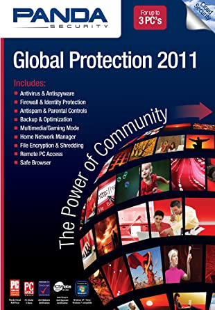 Panda Global Protection 2011 3-User [Download] [OLD VERSION]