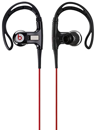 Beats by Dr. Dre Powerbeats In-Ear Earphones - Black  Amazon.co.uk   Electronics b7e9810143