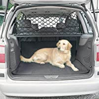 Car Pet Safety Net, Adjustable Barrier Net, Pet and Dog Safety Net, Dog Travel Blocks for Van, SUV, Truck, Car