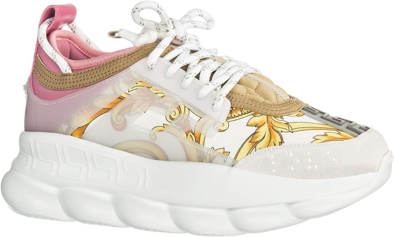 Versace Women Chain Reaction Sneakers