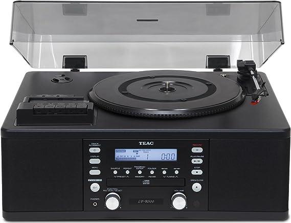 Teac LP-R500 - Tocadiscos Negro: Amazon.es: Electrónica