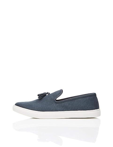FIND Tassle Casual Mocasines, Azul Navy, 40 EU: Amazon.es: Zapatos y complementos