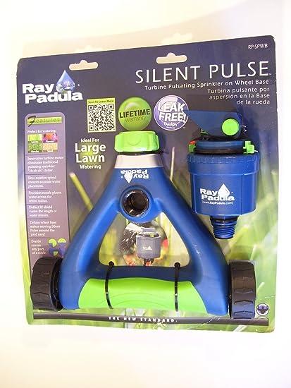 Ray Padula Silent Pulse Turbine Pulsating Sprinkler on Wheel Base