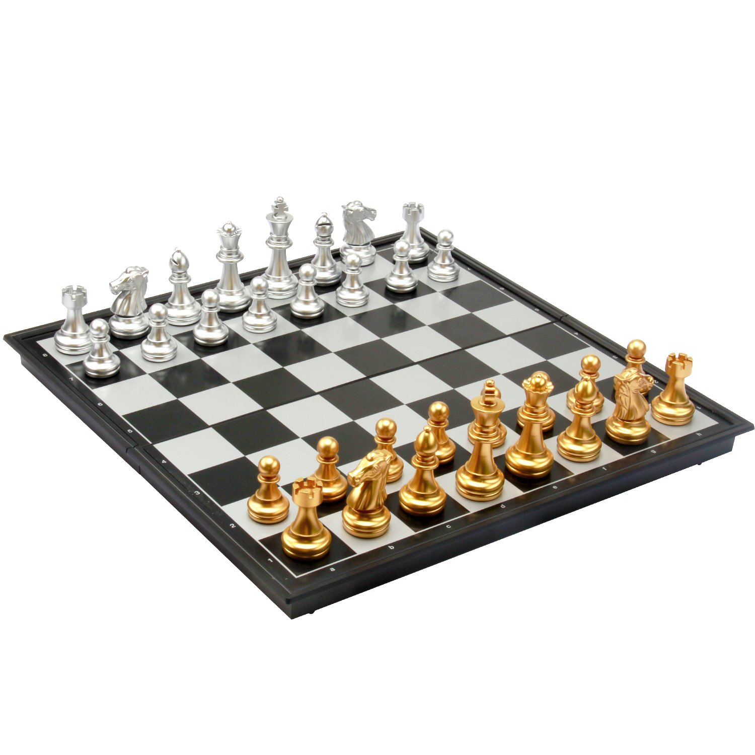 Amerous 12'' Travel Magnetic Chess Set, Portable Classic Folding Chess Board Game Gifts for Kids or Adults by AMEROUS