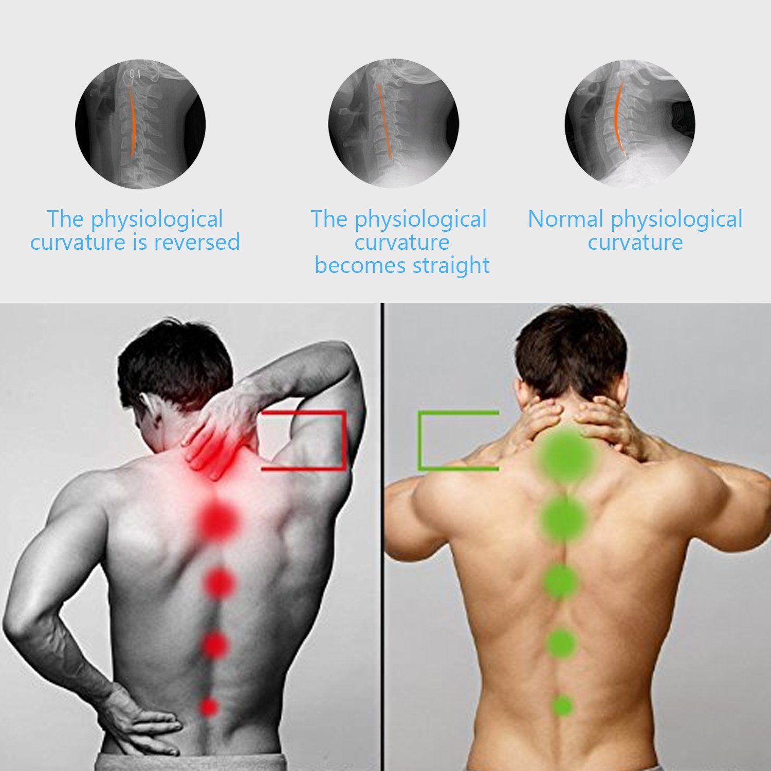 P PURNEAT Cervical Neck Traction Device – Instant Pain Relief for Chronic Neck and Shoulder Pain – Effective Alternate Pain Relieving by P PURNEAT (Image #5)