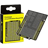 KEYESTUDIO 10Pcs PCB Prototype Board Shield Starter Kit for Arduino Leonardo, for Uno R3, Electronic Printed Circuit Prototyp