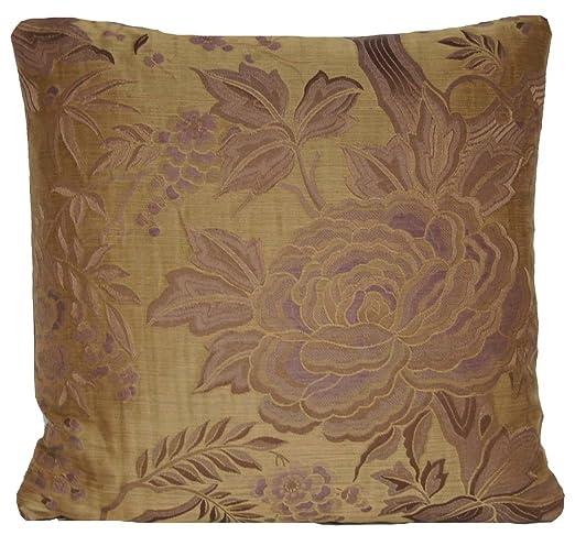 Funda de cojín de seda diseño Floral manta Pierre Frey funda ...