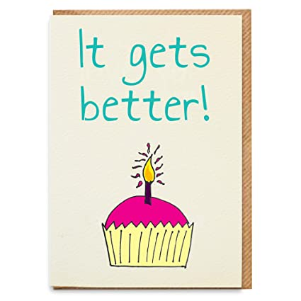 Tarjeta de cumpleaños divertida, tarjeta de cumpleaños ...