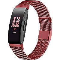 Runostrich Klockarmband kompatibel med Fitbit Inspire 2/Inspire HR/Inspire rostfritt stål mesh magnetband armband…
