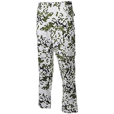 mfh bdu  MFH BDU Combat Trousers Ripstop Snow at Amazon Men's Clothing store: