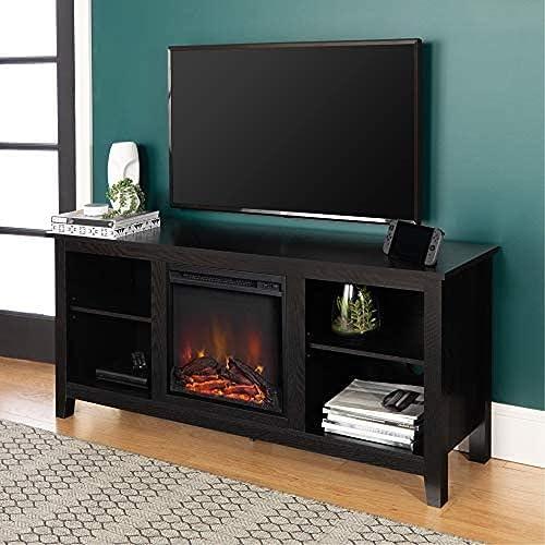 Walker Edison Fireplace TV Stand